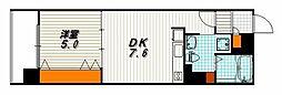 G-CREST京都四条烏丸[5階]の間取り