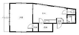 馬場ビルII[2階]の間取り