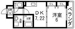 ジャスミンガーデン[706号室号室]の間取り