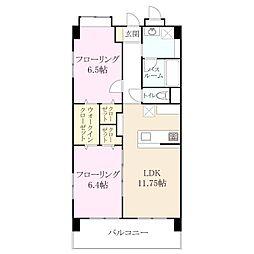 今宿西1丁目 新築マンション[1階]の間取り