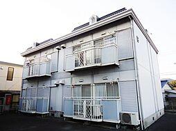 サンシャイン中川 A・B[B202号室]の外観