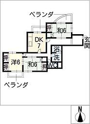 Mハイツ佐藤[1階]の間取り
