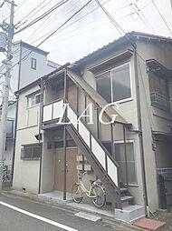東京都北区王子3丁目の賃貸アパートの外観