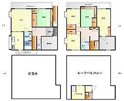 [一戸建] 神奈川県横須賀市長瀬3丁目 の賃貸【/】の間取り
