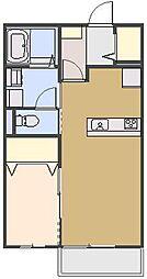 ルミナス B[202号室号室]の間取り