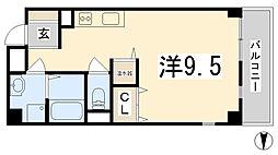 兵庫県姫路市東延末2丁目の賃貸アパートの間取り