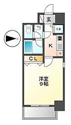 プロシード新栄[12階]の間取り
