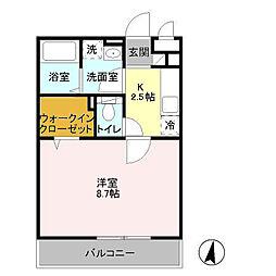 The Ritz TAKANO(リッツタカノ)[3階]の間取り