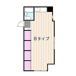 沼津ビューハイツ[1階]の間取り