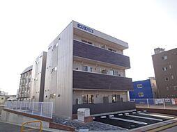 広島県広島市南区上東雲町の賃貸アパートの外観