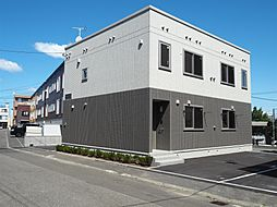 北海道札幌市清田区北野六条1丁目の賃貸アパートの外観