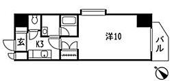 リオビエント東原[6階]の間取り