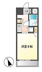 コンフォルト鶴舞[3階]の間取り