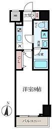東京都江東区高橋の賃貸マンションの間取り
