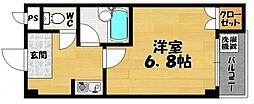 第8セイワビル[302号室号室]の間取り