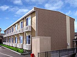 兵庫県加古川市野口町水足の賃貸アパートの外観