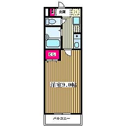 グランベール塚本[1階]の間取り