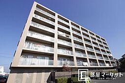 愛知県みよし市三好町上の賃貸マンションの外観