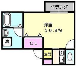 (仮称)浜寺石津町マンション計画[2階]の間取り