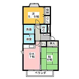 DUO[1階]の間取り