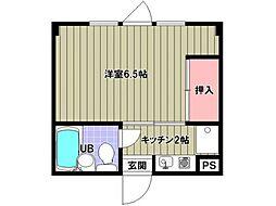 ハウス35[2階]の間取り
