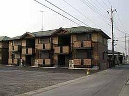 グリーンカースル A[2階]の外観