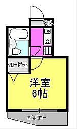日神パレステージ橋本[1階]の間取り