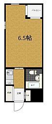 風間マンション[1階]の間取り