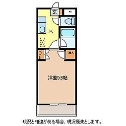 Mシャルマン[1階]の間取り