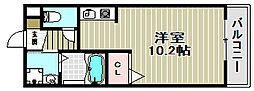 ビガー[2階]の間取り