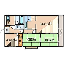 カワタビル2[5階]の間取り