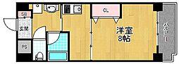 カリーノカサメント東中振[2階]の間取り