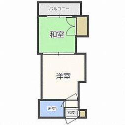 第5松井ビル[5階]の間取り