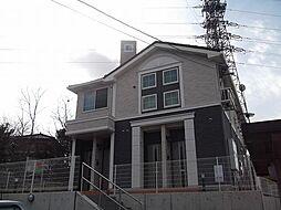 愛知県名古屋市緑区鳴海町字諏訪山の賃貸アパートの外観
