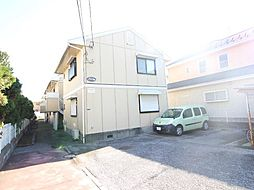 千葉県柏市増尾6の賃貸アパートの外観