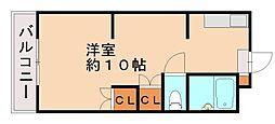 福岡県福岡市南区井尻3丁目の賃貸マンションの間取り