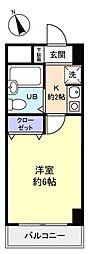 シティクレスト津田沼[3階]の間取り