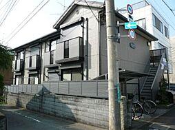 東京都昭島市郷地町1丁目の賃貸アパートの外観