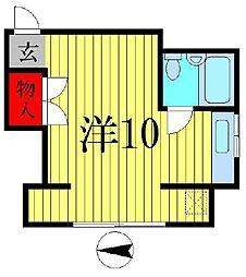 東京都葛飾区立石7の賃貸マンションの間取り