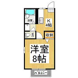フレグランスARAI B棟[2階]の間取り