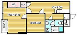 新潟マンション[7階]の間取り