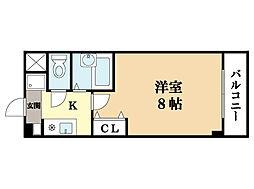 ボナールヒロ(3月31日入居可能)[2階]の間取り