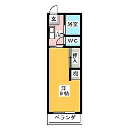 南一番センタービル[2階]の間取り