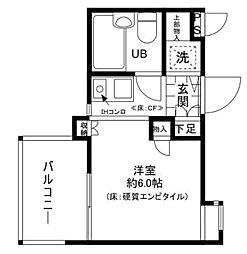 東京都練馬区平和台4丁目の賃貸マンションの間取り