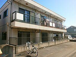 東京都調布市東つつじケ丘2丁目の賃貸アパートの外観