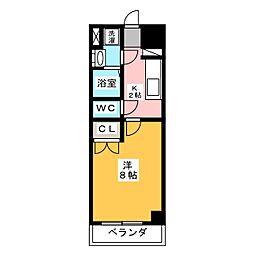 サニー大曽根[5階]の間取り