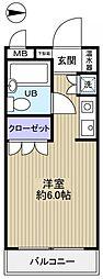 志津リリエンハイム[2階]の間取り