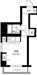 東京都大田区大森北1丁目の賃貸マンションの間取り