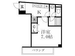 センコート[3階]の間取り