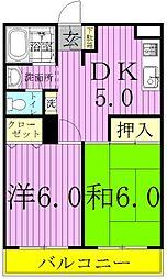 オンダ・エルドラド八潮II[101号室]の間取り